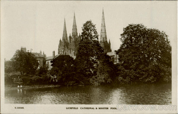 Litchfield Cathedral & Minster Pool England