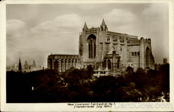 New Liverpool Cathedral England