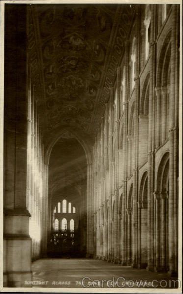 Sunlight Across The Nave Ely Cathedral England