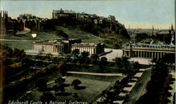 Edinburgh Castle & National Galleries