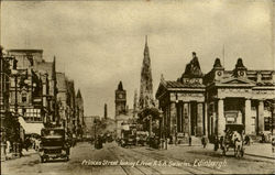 Princes Street Looking E. From R.S.A. Galleries