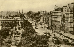 Princes Street From Scoot Monument