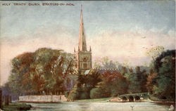 Holy Trinity Church Postcard