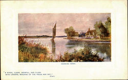 Horning Ferry Postcard