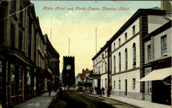 Hobe Hotel And Clock Tower Postcard