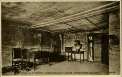 The Birthroom Shakespeare's House Postcard