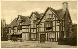 Shakespeare's House Postcard