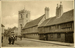 King Edwards School And Almhouses Postcard