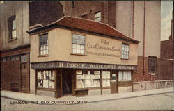 The Old Curiosity Shop Postcard