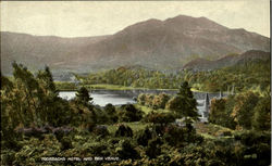 Trossachs Hotel And Ben Venue Postcard