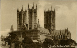 Lincoln Cathedral S. W