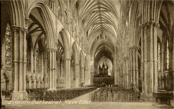 Lincoln Cathedral Nave East