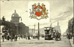 Piccadilly & Royal Infirmary Postcard