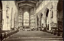 St. Michael's Interior Postcard