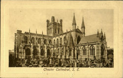 Chester Cathedral South East