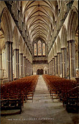 The Nave Salisbury Cathedral