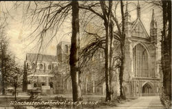 Winchester Cathedral And Avenue