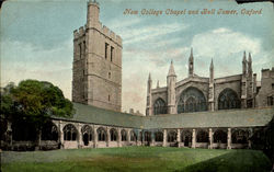 New College Chapel And Bell Tower Postcard