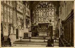 The Chancel Holy Trinity Church Postcard