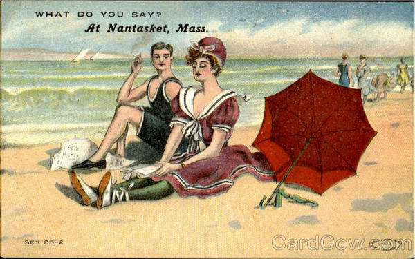 What Do You Say? Nantasket Massachusetts Swimsuits & Pinup