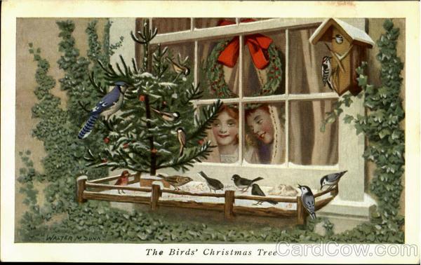 The Birds Christmas Tree