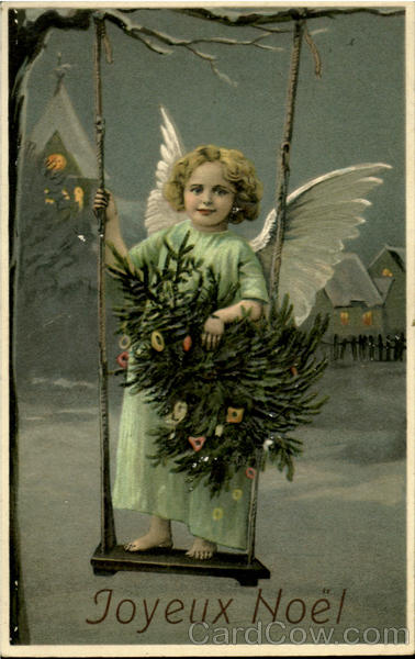 Joyeux Noel New Year's Angels