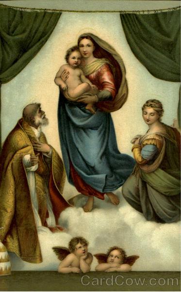 Die Sixtinische Madonna Religious