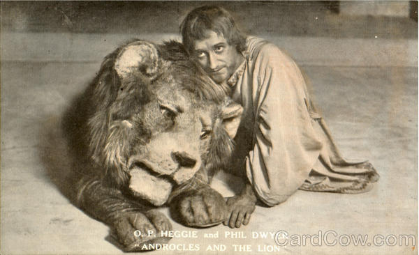 Androcles And The Lion Art