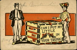 Can I Put My Little Shoes In Your Trunk? Postcard