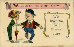 Welcome To Our City! Postcard
