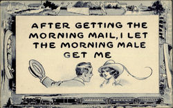 Getting the Morning Mail