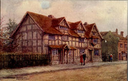 Shakespeare's Birth Place Postcard