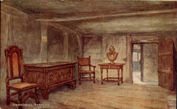 Shakespeare's birthplace, the birth room