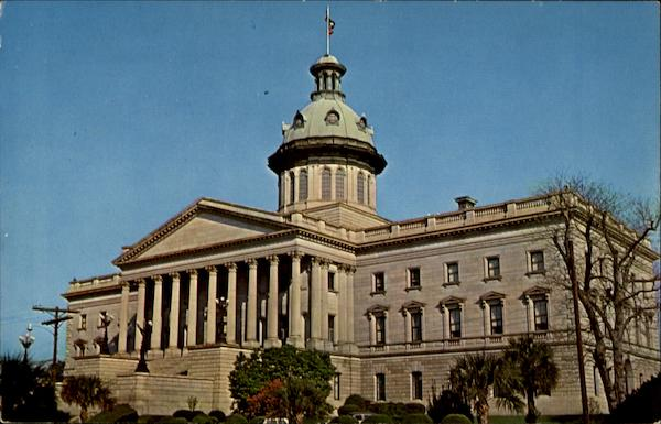 The Beautiful South Carolina State Capitol Columbia