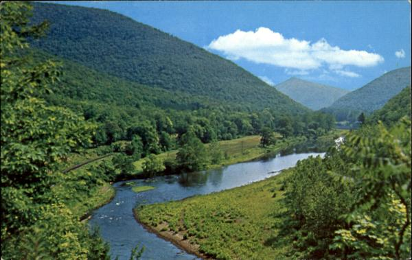 Pine Creek, State Rt. 414 Waterville Pennsylvania