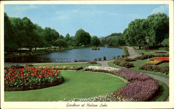 Gardens At Italian Lake Harrisburg Pa