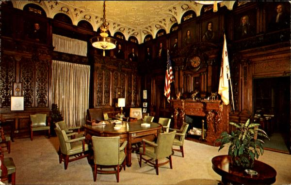 The Governor's Office At The State Capitol Building Harrisburg Pennsylvania
