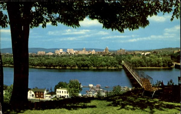 West Shore Of Susquehanna River Harrisburg Pennsylvania