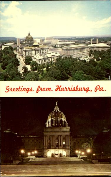 Capitol Of The Keystone State Harrisburg Pennsylvania