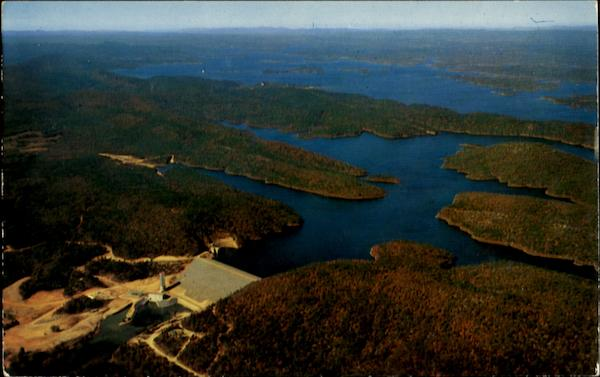 blakely mountain dam and lake ouachita ozarks ar
