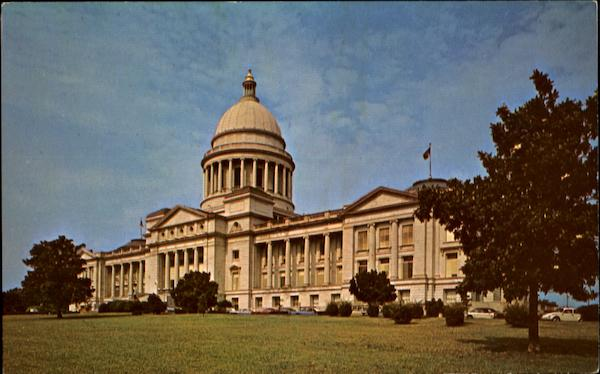 The State Capitol Little Rock Arkansas
