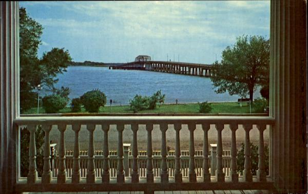 Bridge To Ladys Island Beaufort South Carolina