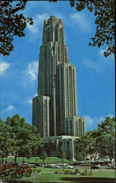 Cathedral Of Learning Pittsburgh Pennsylvania