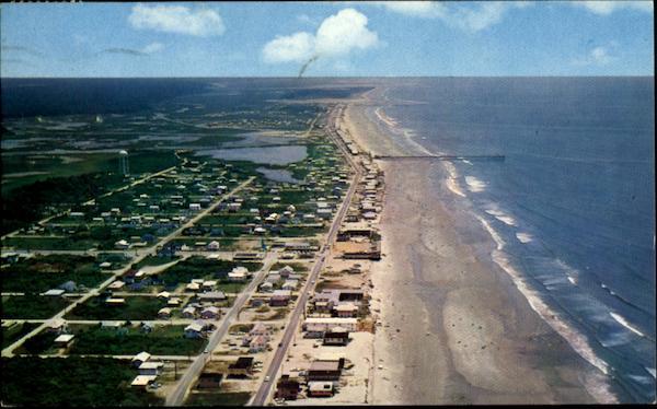 Drive On Holidays >> Aerial Shot Of Cherry Grove Beach South Carolina