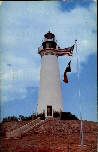 The Old Lighthouse Port Isabel Texas