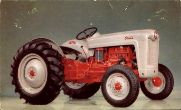 New Ford Tractor 1952 NAA-Jubilee Salisbury Center New York