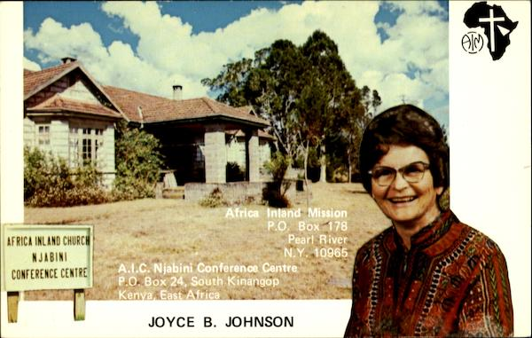 Joyce B. Johnson Religious