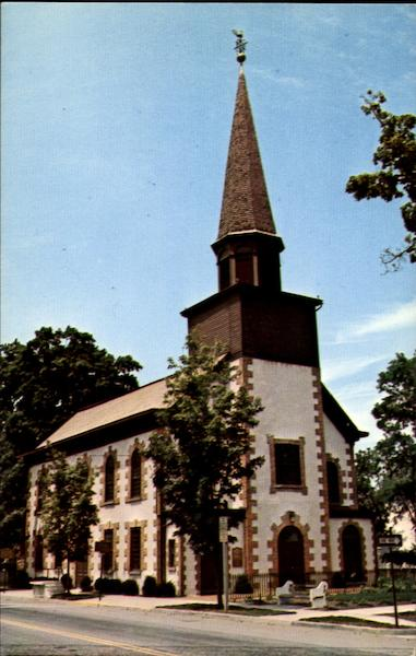 First Reformed Dutch Church Of Fishkill, Main Street (RT. 52) New York