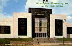 Oscar Wells Memorial Birmingham Museum Of Art