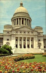 Arkansas State Capitol And Garden